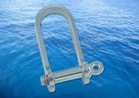 Flat Shackle Long A4 (316)