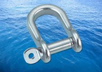 Flat Shackle Semi Round A4 (316)