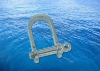 Flat Shackle Short A4 (316)