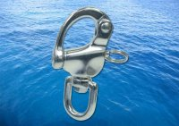 Slip Hook With Ring A4 (316)