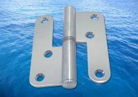 Two Part Door Hinge A2 (304) Left or Right Side
