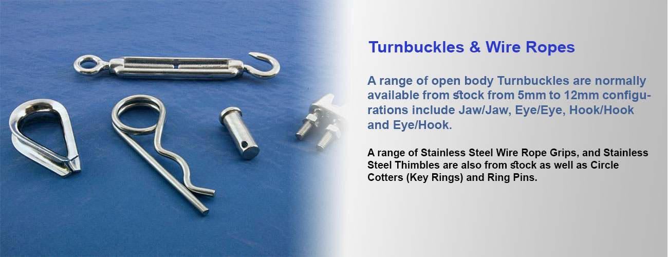Turnbuckles & Wire Ropes